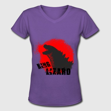 Lizard King King Lizard - Women's V-Neck T-Shirt