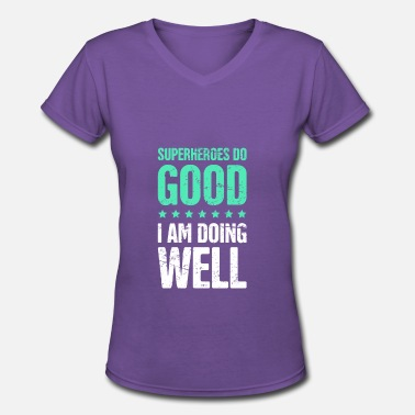 English Quotes Funny English Teacher Quote - Women's V-Neck T-Shirt