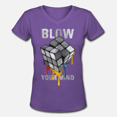6c4d60ae5 Melting Rubiks Cube Rubik's Cube Blow Your Mind - Women'