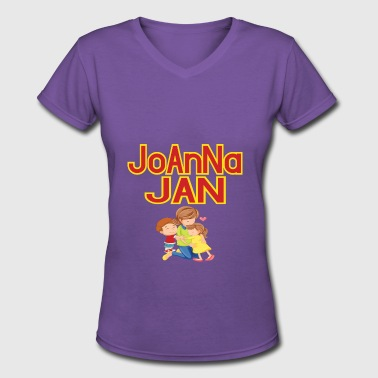 Jan JAN - Women's V-Neck T-Shirt