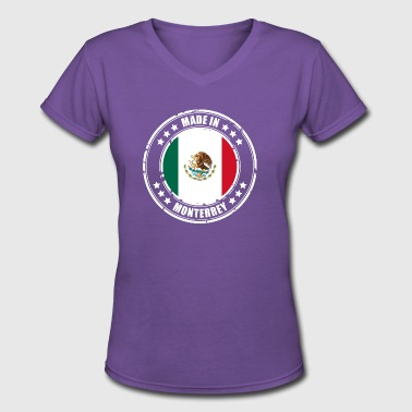 Monterrey MADE IN MONTERREY - Women's V-Neck T-Shirt