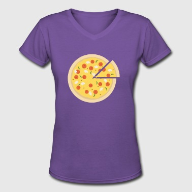 Sex Italy Pizza is a Live saver - Women's V-Neck T-Shirt