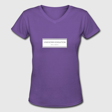 Rise above - Women's V-Neck T-Shirt