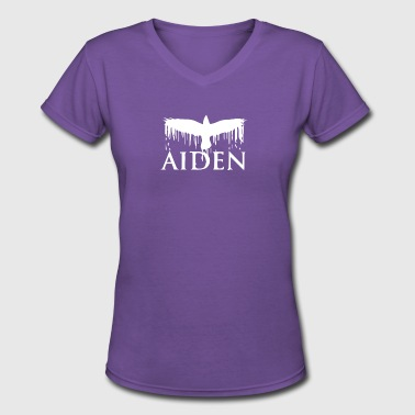 Aiden - Women's V-Neck T-Shirt