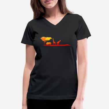 Safari Safari - Women's V-Neck T-Shirt