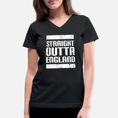 England England - Women's V-Neck T-Shirt