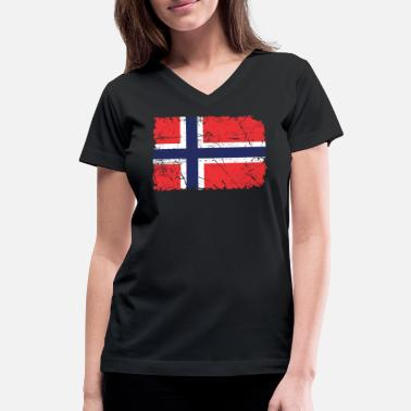 Norway Norway - Women's V-Neck T-Shirt