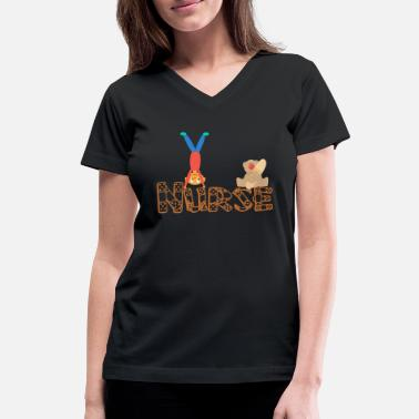 Bandaid BandAid Nurse.png - Women's V-Neck T-Shirt