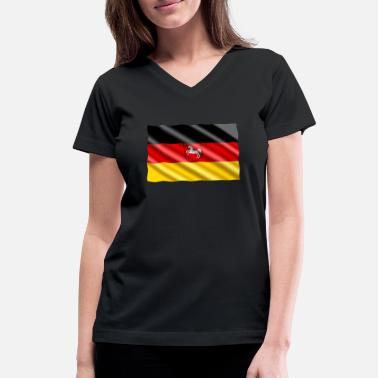 Saxony Lower Saxony - Women's V-Neck T-Shirt