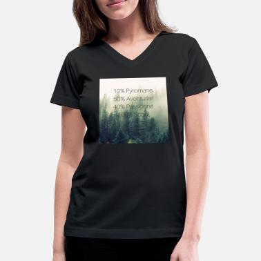 Foret 100% Scout - Women's V-Neck T-Shirt