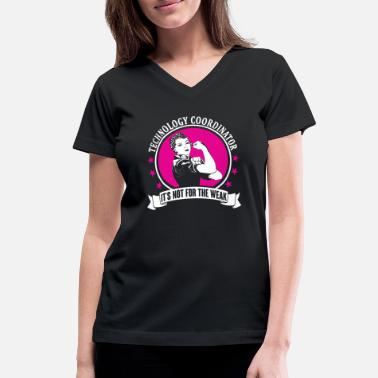Technology Technology Coordinator - Women's V-Neck T-Shirt