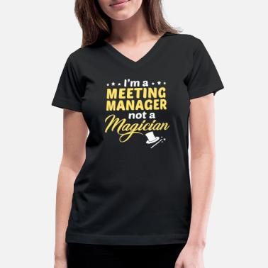 Meeting Manager Apparel Meeting Manager - Women's V-Neck T-Shirt