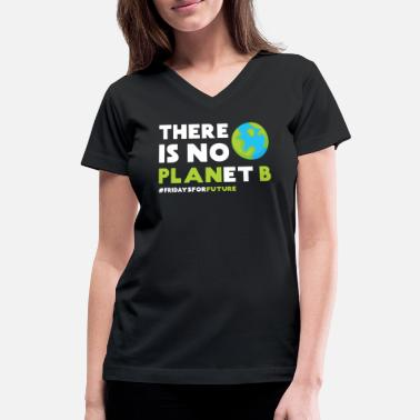 Change Climate change gift idea - Women's V-Neck T-Shirt