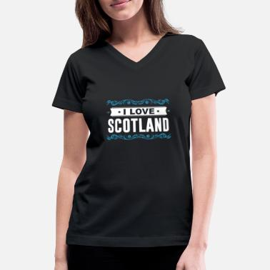 Edinburgh Scotland Cairngorms Edinburgh Kingdom - Women's V-Neck T-Shirt