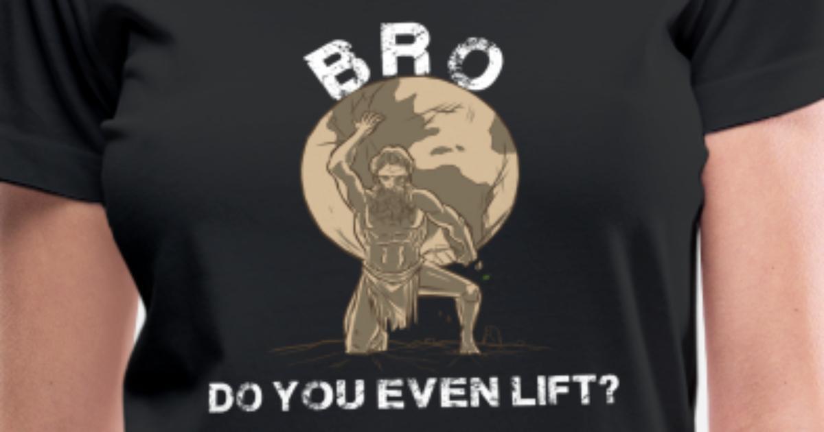 c77dd50728 Weight Fitness Atlas World Globe Gym Workout Women's V-Neck T-Shirt    Spreadshirt