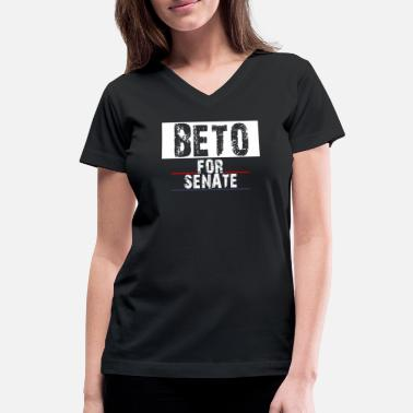 Senate Beto For Senate - Women's V-Neck T-Shirt