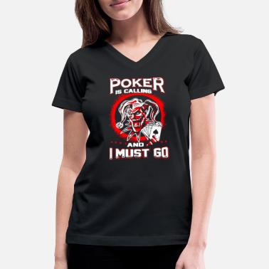 Poker Poker Star Shirt - Women's V-Neck T-Shirt