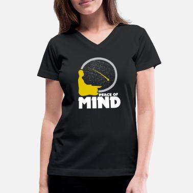 Mindfulness Meditation Meditation Yoga Meditate Body Mind - Women's V-Neck T-Shirt