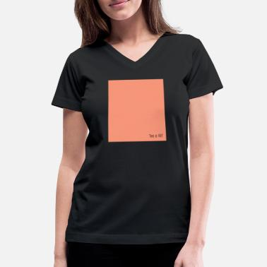 Simple Art This is art simple - Women's V-Neck T-Shirt