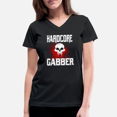 Hardcore Hardcore - Women's V-Neck T-Shirt