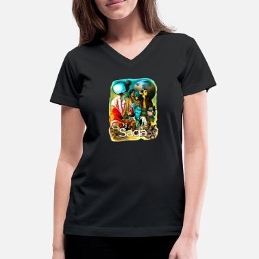 Saga saga - Women's V-Neck T-Shirt
