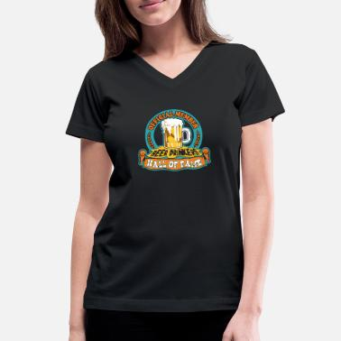 Hall Of Fame Drinkers Hall Of Fame - Women's V-Neck T-Shirt