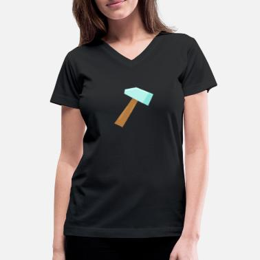 Hammer hammer - Women's V-Neck T-Shirt