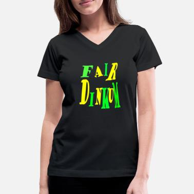 Dinkum Fair Dinkum Power merch - Women's V-Neck T-Shirt