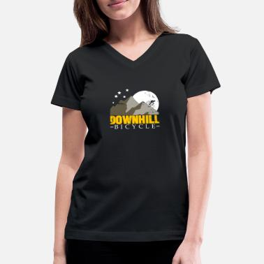 Forest Hill Drive Downhill Bicycle christmas gift teens birthday - Women's V-Neck T-Shirt