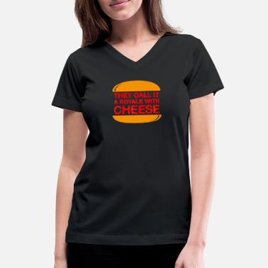 Royal With Cheese Royale With Cheese - Women's V-Neck T-Shirt