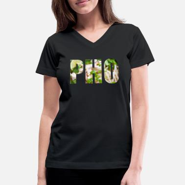 pho - Women's V-Neck T-Shirt