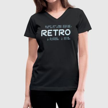 Retro - Women's V-Neck T-Shirt