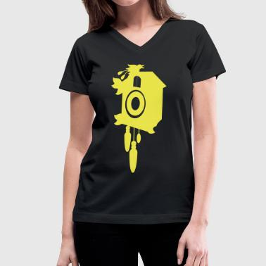 a cuckoo clock - Women's V-Neck T-Shirt
