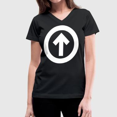 Above The Influence - stayflyclothing.com - Women's V-Neck T-Shirt