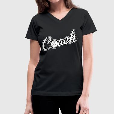 Coach - Women's V-Neck T-Shirt