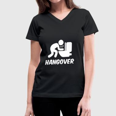 Hangover - Women's V-Neck T-Shirt