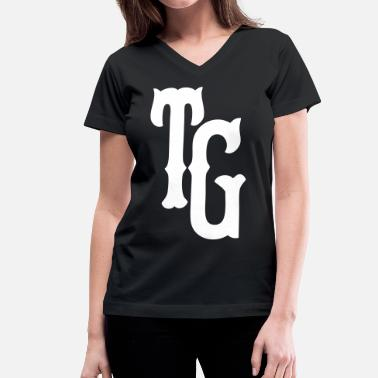 Taylor Gang Pittsburgh Taylor Gang - stayflyclothing.com - Women's V-Neck T-Shirt