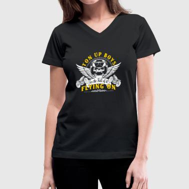 Ton Up Boys - Women's V-Neck T-Shirt