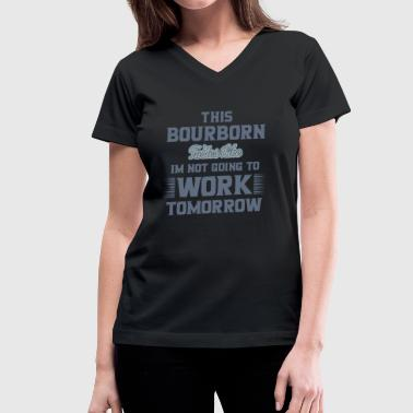 Bourbons Bourbon - Women's V-Neck T-Shirt