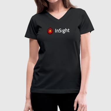 Landers NASA InSight - Women's V-Neck T-Shirt