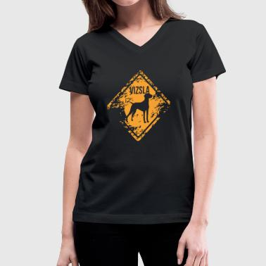 Vizsla - Women's V-Neck T-Shirt