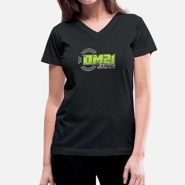 Youtube Gaming DM21 Gaming YouTube - Women's V-Neck T-Shirt