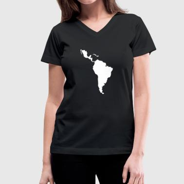 Latin America - South America - Women's V-Neck T-Shirt