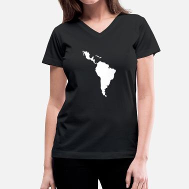 Latin America Latin America - South America - Women's V-Neck T-Shirt