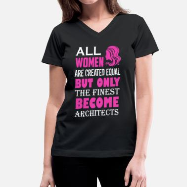 Architects Architect Shirts - Women's V-Neck T-Shirt