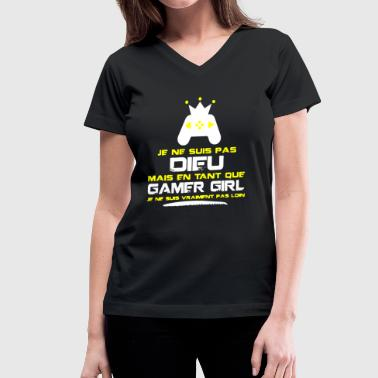 Gamer Girl Shirt - Women's V-Neck T-Shirt