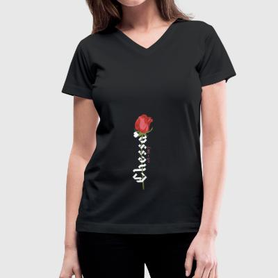 CHESSA - Women's V-Neck T-Shirt