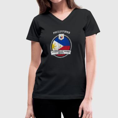 Philippines It's Where My Legend Begins - Women's V-Neck T-Shirt