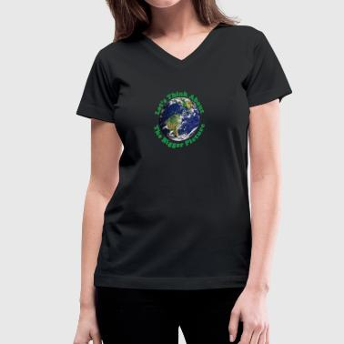 Bigger Picture - Women's V-Neck T-Shirt