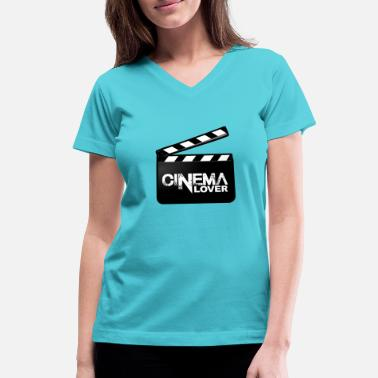 Cinema Cinema - Women's V-Neck T-Shirt
